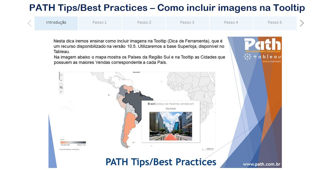 PATH Tips/Best Practices - Como incluir imagens na Tooltip