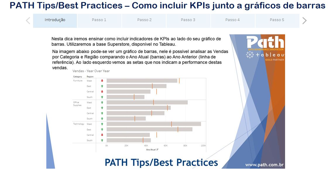 PATH Tips/Best Practices – Como incluir KPIs junto a gráficos de barras