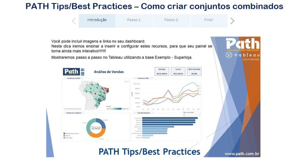 PATH Tips/Best Practices – Como incluir imagens e links no seu dashboard