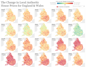 Change in Local Authority House Prices